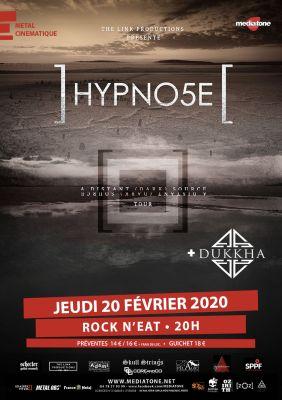 HYPNO5E + DUKKHA au Rock n eat à Lyon le 20 février 2020