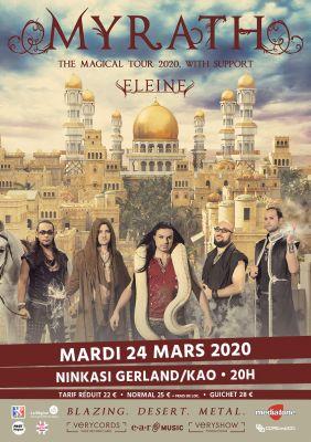 MYRATH + ELEINE au Ninkasi Gerland le 24 mars 2020