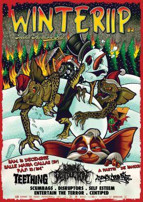 Winteriip II - Metal Hardcore Festival à Tours le samedi 18 Décembre 2021