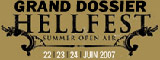 Hellfest 2007 - Report dimanche 25 juin