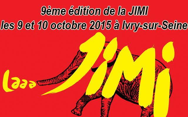 9ème édition de la JIMI les 9 et 10 octobre 2015 à Ivry-sur-Seine
