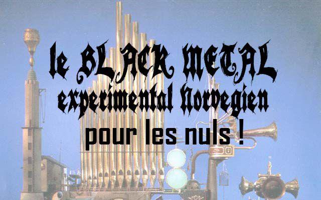 Le Black Metal expérimental norvégien pour les nuls