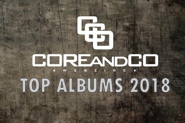 TOP albums 2018 metal, hardcore, rock et leurs dérives