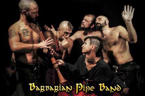 Barbarian Pipe Band (groupe/artiste)