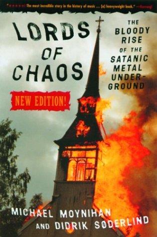 chronique Les seigneurs du chaos - Livre