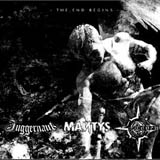 Juggernaüt / Mantys / Coven - the end begins - splitCD