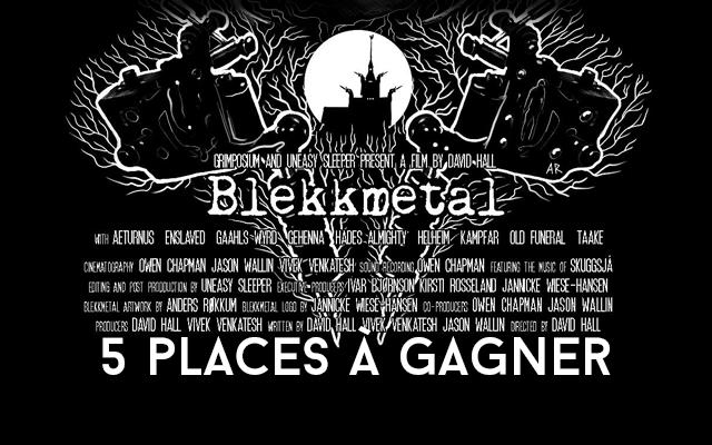 Jeu concours : Projection Blekkmetal à Angers : 5 places à gagner !
