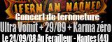 Ultra Vomit + 29/09 - Le Ferailleur / Nantes (44) - le 24/09/2008