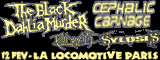 The Black Dahlia Murder + Sylosis + Cephalic Carnage + Psycroptic (report)
