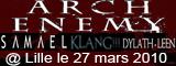 SAMAEL + Arch Enemy + Dylath-Leen + Klang!!! (report)