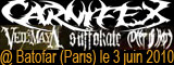 Carnifex + Veil of maya + Deep In Hate + Suffokate - Le Batofar / Paris (75) - le 03/06/2010