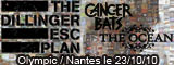 The dillinger escape plan + Cancer Bats + The Ocean - L'Olympic / Nantes (44) - le 23/10/2010