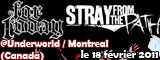 For Today + Stray From The Path - Underworld / Montreal - le 18/02/2011