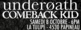 Underoath + Comeback Kid - La tulipe / Montreal (Canada) - le 08/10/2011 (Report)