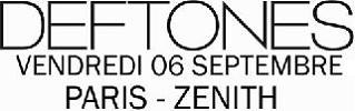 Deftones - Zenith / Paris - le 06/09/2013