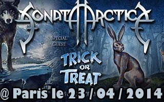 Sonata Arctica + Trick Or Treat (report)