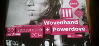 Wovenhand - Le Lieu Unique / NANTES (44) - le 30/09/2014