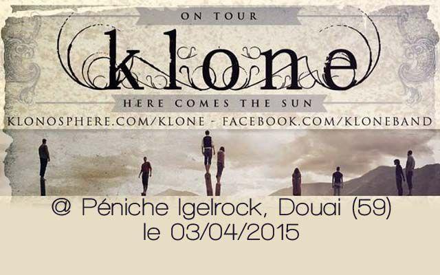 Klone - Péniche Igelrock / Douai (59) - le 03/04/2015