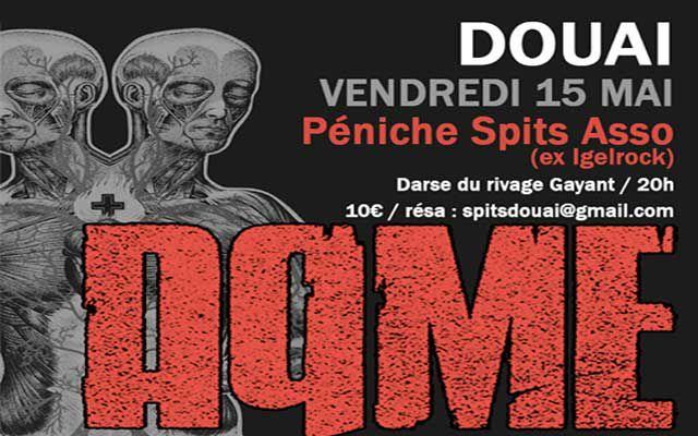 Aqme - Péniche Igelrock / Douai (59) - le 15/05/2015