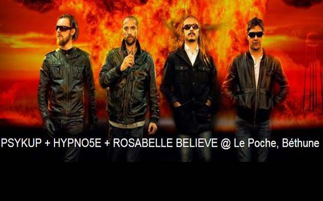 Psykup + Hypno5e - Le poche  / Béthune (62) - le 27/02/2016