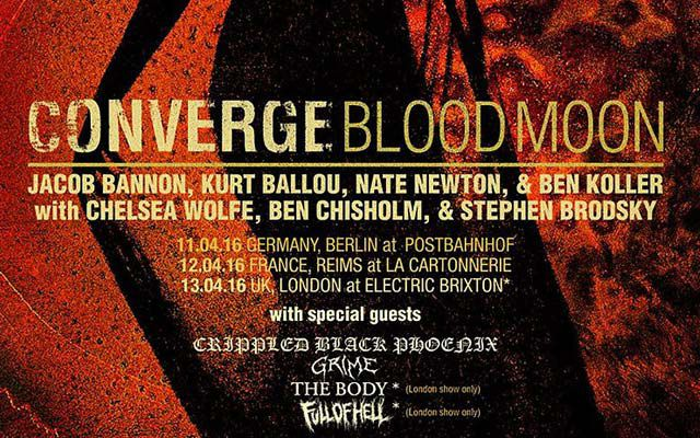 Converge + Grime + Crippled Black Phoenix (report)