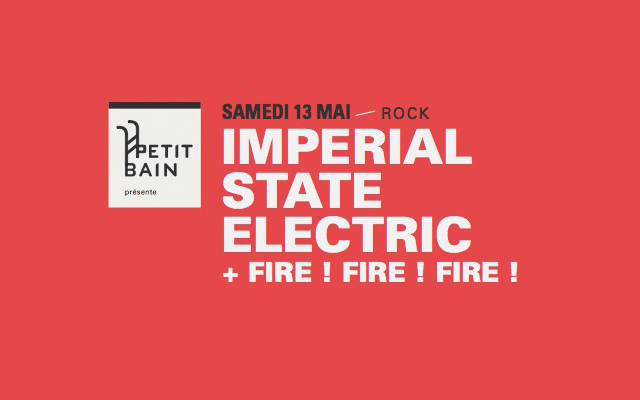 Imperial State Electric - le Petit Bain / PARIS - le 13/05/2017 (Report)