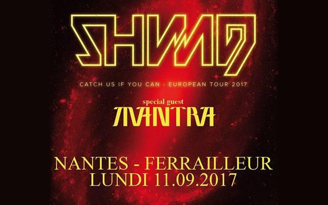 Shining (nor) + Mantra - Ferrailleur / Nantes (44) - le 11/09/2017