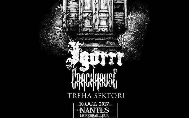Igorrr + Crackhouse - Ferrailleur / NANTES (44) - le 10/10/2017 (Report)