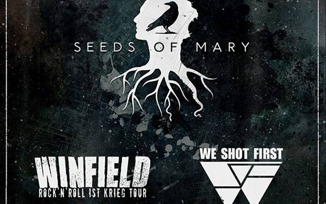 Winfield + Seeds Of Mary + We Shot First (report)