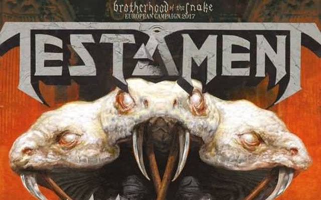 Testament + Annihilator + Death Angel - Stereolux / NANTES (44) - le 07/12/2017