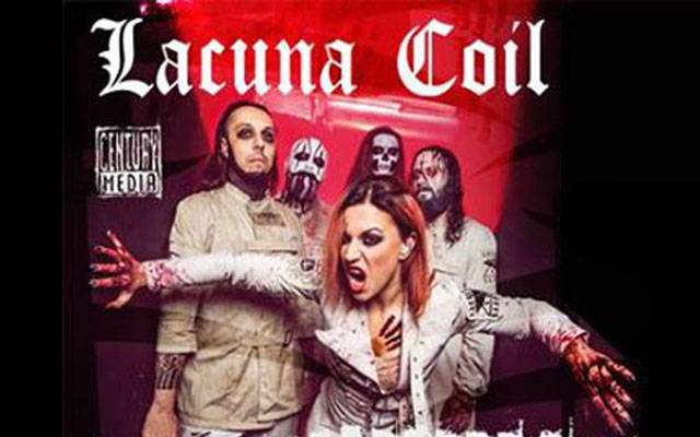Lacuna Coil + Cellar Darling + Aeverium - Chabada / ANGERS (49) - le 13/12/2017