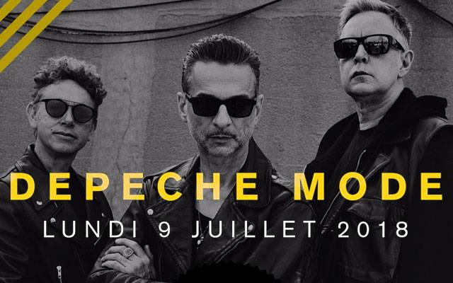 Depeche Mode + Girls In Hawaii - Château de Beauregard / HEROUVILLE SAINT-CLAIR (14) - le 09/07/2018