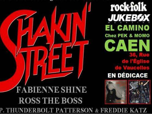Shakin' Street + Désillusion (report)