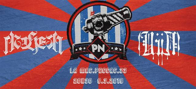 Soirée  - La MAC / Pessac (33) - le 09/03/2019 (Report)