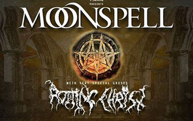 Moonspell + Rotting Christ + Silver Dust - L'Etage / RENNES (35) - le 31/10/2019 (Report)