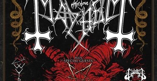 Mayhem + Gaahls Wyrd + Gost - L'Etage / RENNES (35) - le 06/11/2019 (report)