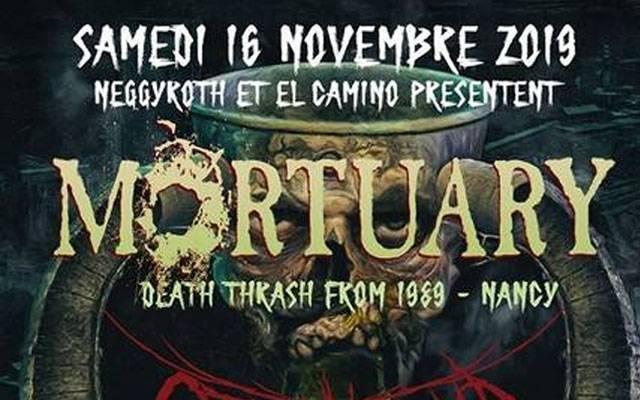 Mortuary + Warkult - El Camino / CAEN (14) - le 16/11/2019 (Report)