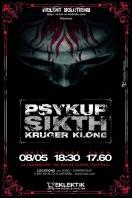 PSYKUP + KRUGER + KLONE - La Loco / Paris (75) - le 08/05/2005 (Report)