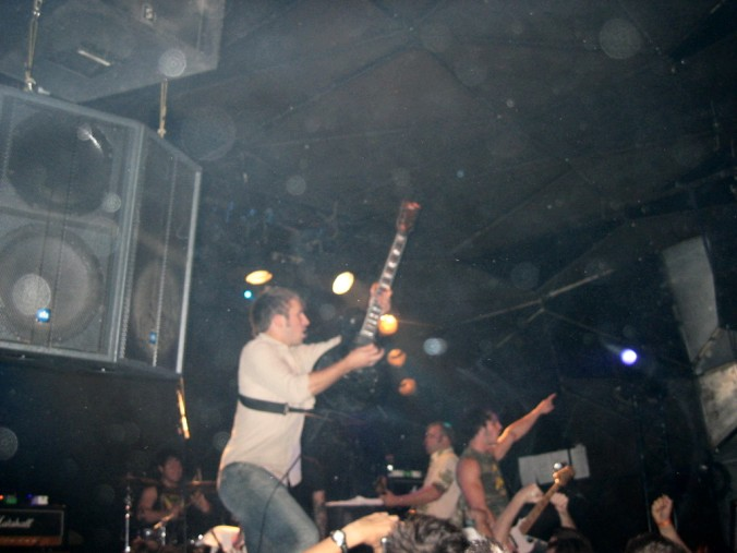 EVERY TIME I DIE + 12 TRIBES + A LIFE ONCE LOST - Le Nouveau Casino / Paris (75) - le 16/08/2005