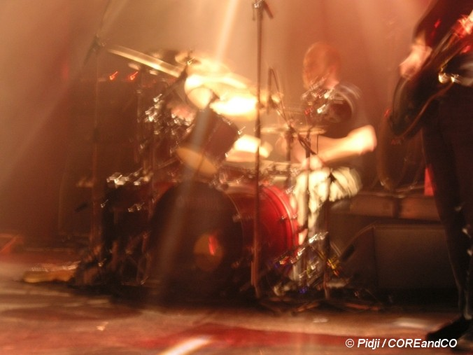 GOJIRA + HOMESTELL - Le Chabada / Angers (49) - le 17/02/2006