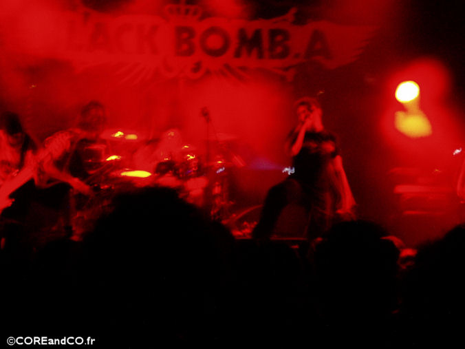 BLACK BOMB A + DAGOBA + BUMBKLAAT - L'Olympic / Nantes (44) - le 17/11/2006