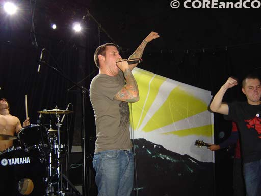 NEVER SAY DIE (COMEBACK KID + PARKWAY DRIVE + CANCER BATS + THIS IS HELL + THE WARRIORS) le 12/11/2007, La scène Bastille, Paris (75) - photo10