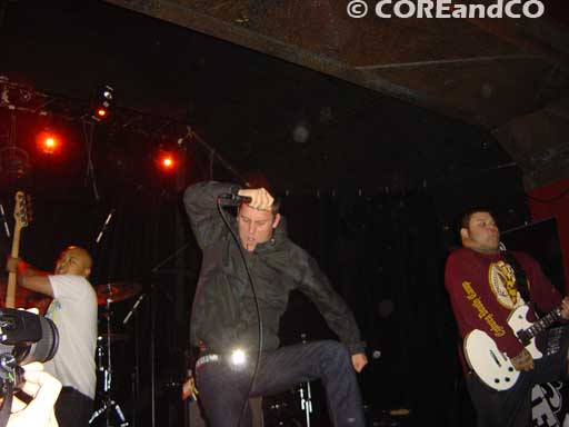 NEVER SAY DIE (COMEBACK KID + PARKWAY DRIVE + CANCER BATS + THIS IS HELL + THE WARRIORS) le 12/11/2007, La scène Bastille, Paris (75) - photo8
