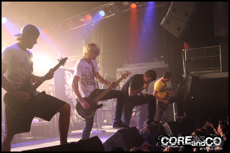 Parkway drive + Unearth + Despised icon + Architects + Protest the Hero + Whitechapel + Carnifex - photo11