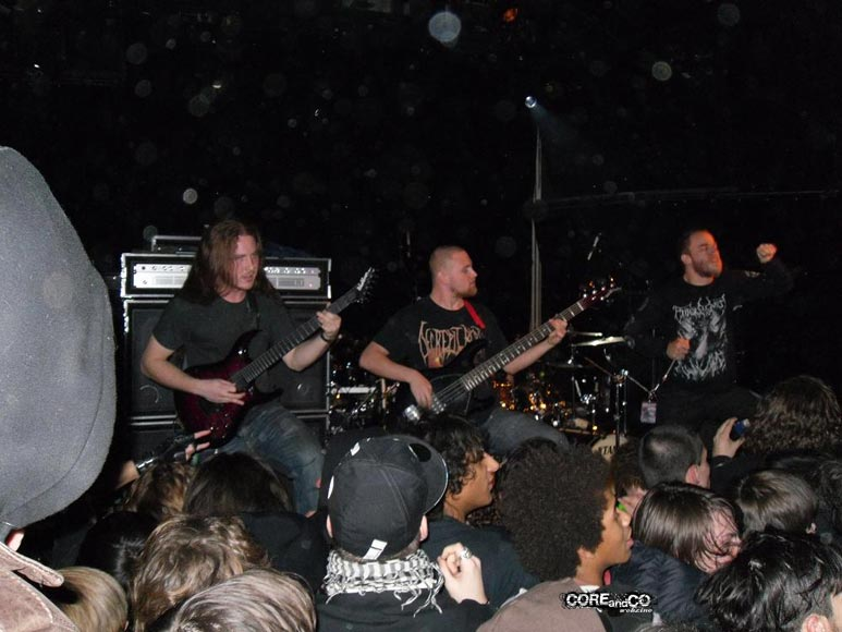 The Black Dahlia Murder + 3 Inches Of Blood + Necrophobic + Obscura + The Faceless + Carnifex + Ingested - photo15