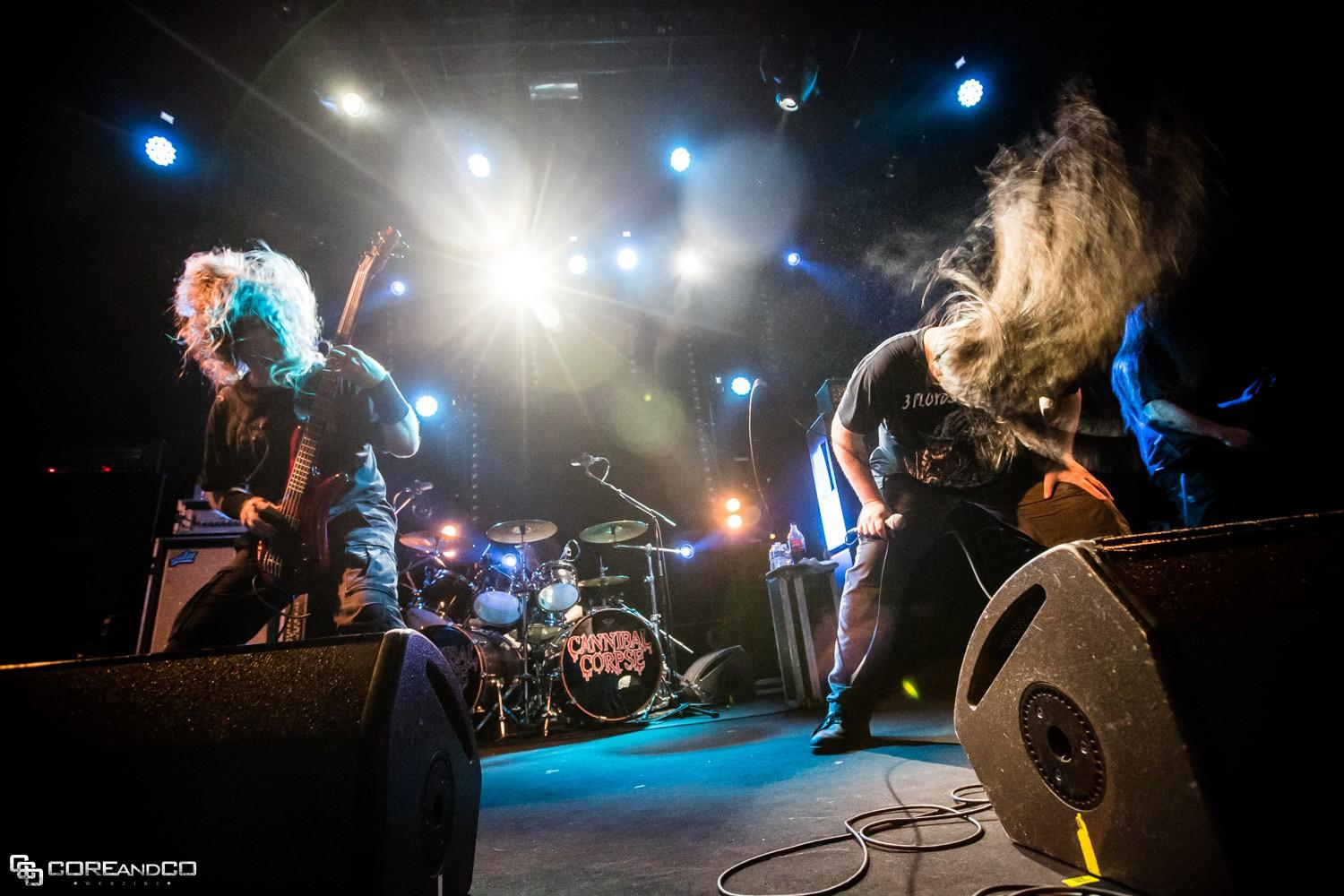 Cannibal Corpse + Revocation - Le Trabendo / Paris (75) - le 28/10/2014