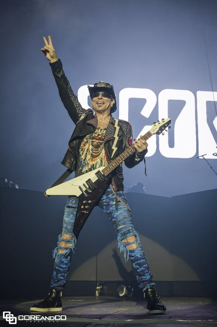 Scorpions le 28/03/2018, Zénith Oméga, Toulon (83) - photo12