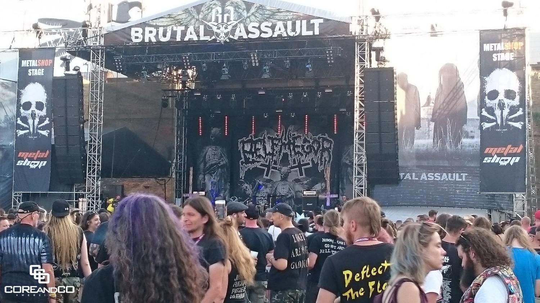 Brutal Assault 2018 - Forteresse militaire de Josefov / Jaromer (Rép. Tchèque) - le 08/08/2018