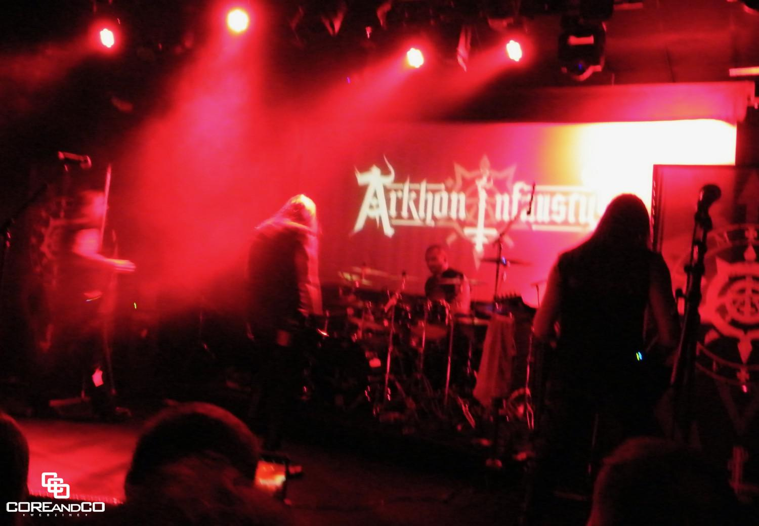 Arkhon Infaustus + The Great Old Ones + Au-dessus + Regarde Les Hommes Tomber - photo27