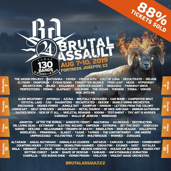 brutal assault 2019 : le guide du routard !